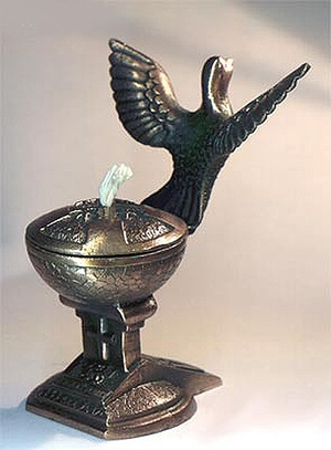 Table candle-stands Lamp 1 (pigeon)