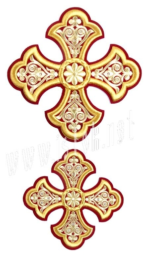 Cross set for Holy and Oblation tables