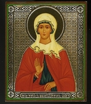 Religious Orthodox icon: Holy Foremother St. Liya