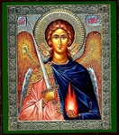 Religious Orthodox icon: Holy Archangel Uriel