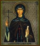 Religious Orthodox icon: Holy Saint Kyra