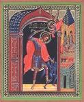 Religious Orthodox icon: Holy Martyr Nicetas