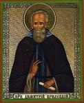 Religious Orthodox icon: Holy Venerable Demetrius of Prilutsk