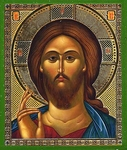 Religious Orthodox icon: Christ the Pantocrator - 16