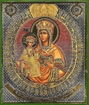 Religious Orthodox icon: Theotokos of Lesninsk