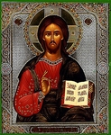 Religious Orthodox icon: Christ the Pantocrator - 17