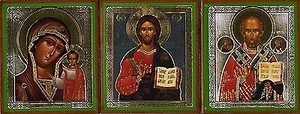 Religious Orthodox icon: Home Tier