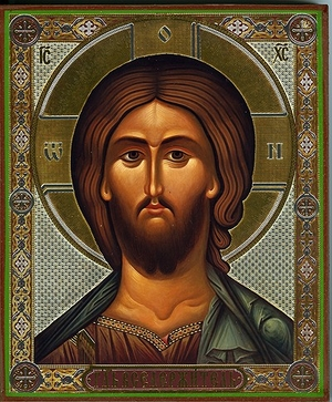 Religious Orthodox icon: Christ the Pantocrator - 19