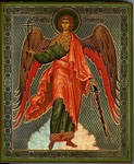 Religious Orthodox icon: Holy Guardian Angel - 6