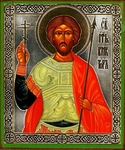 Religious Orthodox icon: Holy Martyr Victor