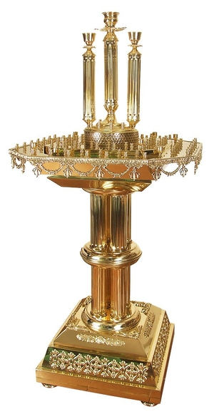 Church floor candle stand - 61 (for 100 candles)