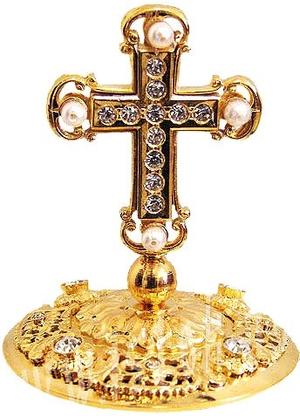 Mitre cross no.15
