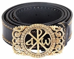 Men's belt - Simple Labarum