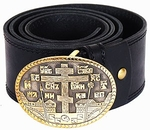 Monastic belt with buckle