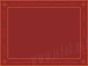 Communion cloth Cross in Church-Slavonic