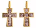 Baptismal cross: Christ the Pantocrator - Theotokos of the Incarnation