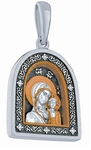 Medallion: Kazan icon of the Most Holy Theotokos