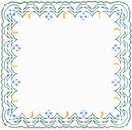 Embroidered napkin - 9315