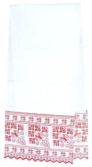Embroidered roushnik Belorussian Cross
