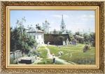 "V.D.Polenov ""Moscow Backyard"""