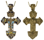 Pectoral cross with relic compartment - 0-72