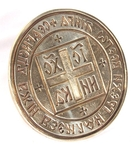 Russian Orthodox prosphora seal no.123 (Diameter: 5.0'' (128 mm))