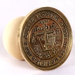 Russian Orthodox prosphora seal no.126 (Diameter: 2.4'' (62 mm))