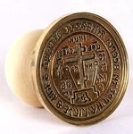Russian Orthodox prosphora seal no.126 (Diameter: 2.4'' (62 mm))