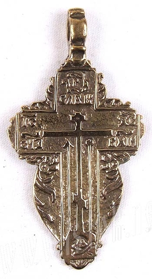 Baptismal cross no.7