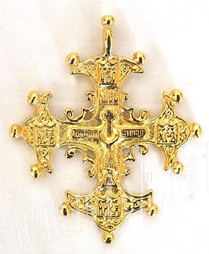 Baptismal cross no.16