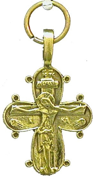 Baptismal cross no.47