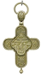 Baptismal cross no.0-131 (reliquary)
