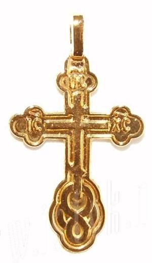 Baptismal cross no.210