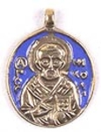 Baptismal medallion: St. Nicholas the Wonderworker - 2