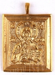 Baptismal medallion: Christ the Panthocrator - 1
