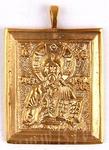 Baptismal medallion: Christ the Panthocrator - 1