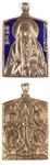 Baptismal medallion: Holy Martyr Elizabeth the Great Duchess