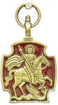 Baptismal medallion: St. George the Winner - 3