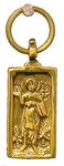 Baptismal medallion: Holy Martyr John the Russian