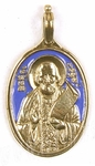 Baptismal medallion: St. Barnaba of Gethsemane