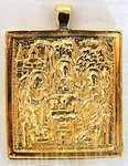 Baptismal medallion: Holy Trinity - 4