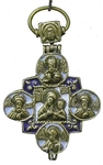 Baptismal reliquary cross no.0-54