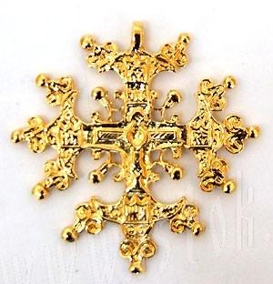 Baptismal cross no.43