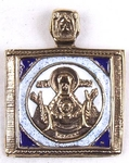 Baptismal medallion: no.173