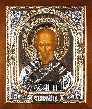 Icon: St. Nicholas the Wonderworker - 12