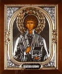 Icon: Holy Great Martyr and Healer Pantheleimon