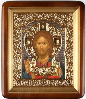 Icon: Christ the Pantocrator - 21
