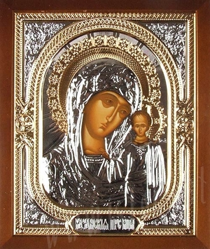 Icon: The Most Holy Theotokos of Kazan' - 11