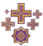 Northern cross vestment set