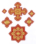Tikhvin cross vestment set